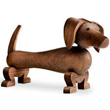 Kay Bojesen Designer Replica Wooden Dachshund Dog Figurine by Rosendahl 39201