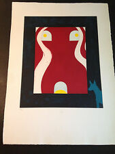 """Billy Al Bengston """"BAB 1"""" Etching, Hand Signed &Numbered, Limited Edition"""