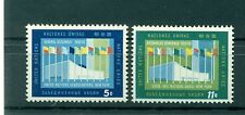 Nations Unies New York 1963 - Michel n. 134/35 - Assemblée Generale 1952 - 1963