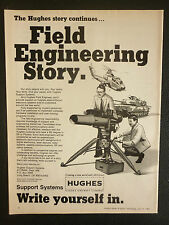7/1983 PUB HUGHES AIRCRAFT COMPANY SUPPORT SYSTEMS MILITARY ENGINEERING AD