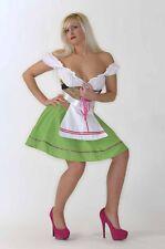 Dirndel Zenzi Oktoberfest Wiesn Karneval Fasching Kostüm Fastnacht Gogo FK15