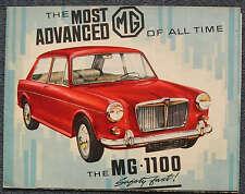 MG 1100 Car Sales Brochure c1963 # H&E 6372