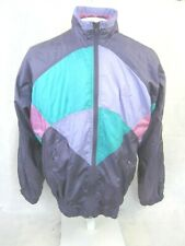 Active Swiss Design Windbreaker vintage 1980s colorblock vaporwave purple sz L ?