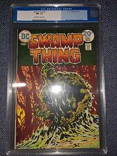 SWAMP THING #9 CGC 9.2 OW-W 1974 BERNIE WRIGHTSON; LEN WEIN STORY