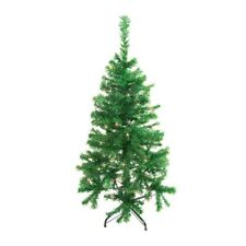 ALEKO Artificial Christmas Tree with Multicolored 50 LED Lights 4 Ft Green Color