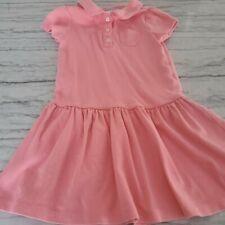 Gymboree Girls Play Proof Uniform Pink Dress Size 6