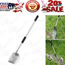 New listing Yangbaga Metal Cat Litter Scoop with Deep Shovel and Long Handle, Detachable