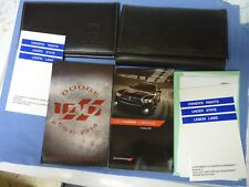 Owner's Manual for a 2014 Dodge Charger with Great Case and Additional Books