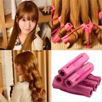 6pcs Foam Rollers Sponge Hair Styling Soft Curler Twist Curlers Crimps Tool H
