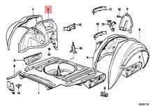 BMW E30 rear inner wheelhouse right  !NEW!! GENUINE 41141939422