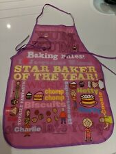 JACQUELINE WILSON Baking / Cooking Apron - Girls  (Age 3 and up)