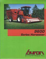 Farm Equipment Brochure  - Byron - 9600 series - Harvester (F6219)