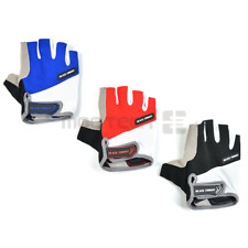 Bike Cycling Gel Half Finger Gloves Short Finger Outdoor Sport Fitness Gloves US
