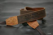 MATIN Vintage-30 Brown Camera Leather Neck Shoulder Strap f/ D-SLR RF Mirrorless