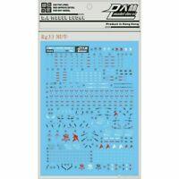For RG 1/144 RX-93 RG33Nu Gundam Model Gunpla Water Slide Decal Stickers Kits