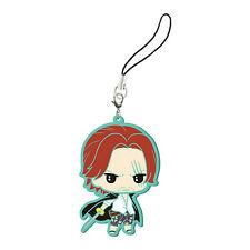 One Piece Shanks Rubber Phone Strap NEW