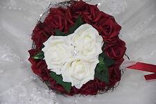 Wurfstrauss aus Rosen mit Bling, zum Brautkleid, Hochzeit, Neu