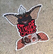 "Gizmo Stripe Gremlins Contour Cut Vinyl 4"" Sticker Slap Decal Indoor Outdoor"
