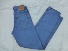 MENS LEVIS 550 RELAXED FIT JEANS SIZE 32x35 #M1097