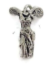 Nike Goddess (Diosa Nike) Charm Pendant .925 Sterling Silver.