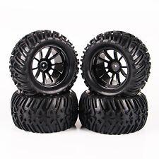 Tire & Wheel 12mm Hex For 1/10 RC Bigfoot Monster Truck Traxxas 4PCS 26201-22508