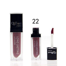 Waterproof Matte liquid lipstick Long Lasting lip gloss Qibest Lipstick #22Color