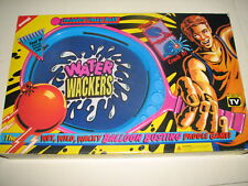 Vtg Koosh Style Buddy L Water Wackers Paddle Balloon Ball Tennis Game Mib 1992