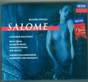 RICHARD STRAUSS SALOME  OPERA  2 CD WITH BOOKLET