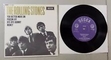 DFE 8560 THE ROLLING STONES YOU BETTER MOVE ON VINYL 45 RECORD RE14 2 OF 2