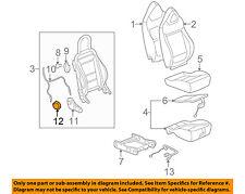 GM OEM Front Seat-Recline Knob 90455299