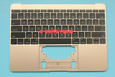 "2016 A1534 12"" for MacBook Top Case + US Keyboard Palmrest Assembly Gold Color"
