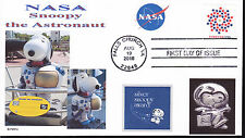 SNOOPY THE ASTRONAUT  NASA  SILVER SNOOPY AWARD   DOGS IN SPACE    FDC- DWc