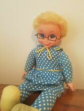 Mrs Beasley Doll with glasses