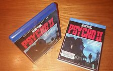 PSYCHO II Blu-ray US import Scream Factory region a(rare OOP slipcover slipcase)