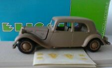 ELIGOR 1:43 AUTO DIE CAST CITROEN TRACTION AV BERLINE 1938 MILITAIRE ART 1032