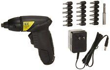 KC Professional 3.6V Cordless Reversible Screwdriver, 21 pcs (CDS36VXDT)