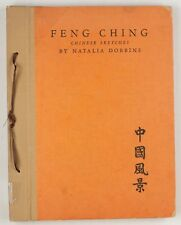 Limited Edition(1933)/Signed Feng Ching: Chinese Sketches, Natalia Dobbins