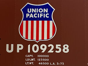 Vintage Athearn Menzies O scale kit Union Pacific Box Car Kit