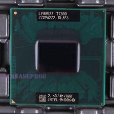 Intel Core 2 Duo T7800 SLAF6 CPU Processor 800 MHz 2.6 GHz