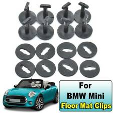 8pcs Car Floor Mat Clips For BMW MINI Carpet Fixing Retainer Holders Twistlock
