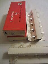 Lot of 13 Chicago Miniature No. 1876 CM1876 SC Bayonet 3.5V T5 Light Bulbs Lamps