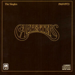 Carpenters ‎- The Singles 1969-1973 (CD-Album A&M Records 393 601-2) 1991