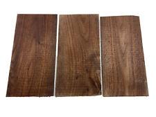 (3) Guitar Veneer, Walnut Wood Guitar Head Veneer Shell Sheet Headplate Replace