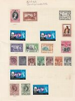 british commonwealth stamps page ref 17663
