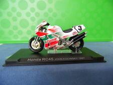 MODELLINO MOTOCICLETTA METALLO-1/24-HONDA RC45-JOHN KOCINSKY-1997