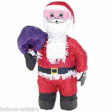 52cm Navidad Santa Claus Bash Pinata Infantil Juego De Mesa Decoración