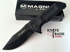 Boker Magnum Door Kicker 01MB709 Liner Lock Folding Pocket Knife Hunting EDC