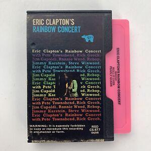 Eric Clapton Rainbow Concert Slip Case (Cassette)