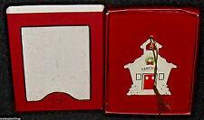 """Lenox Christmas Ornament For My Teacher 3.5"""" in Box Schoolhouse"""