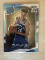 2017-18 Panini Optic Markelle Fultz Rated Rookie RC Silver & Blue Card